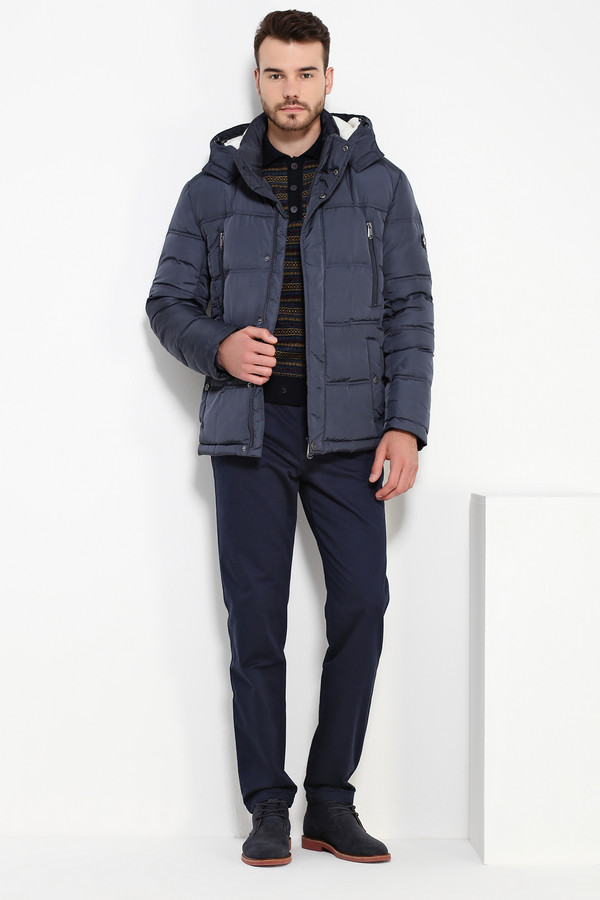 Куртка FINN FLAREКуртки<br><br><br>Размер RU: 46<br>Пол: Мужской<br>Возраст: Взрослый<br>Материал: полиэстер 100%, Состав_наполнитель пух 60%, Состав_наполнитель перо 40%<br>Цвет: Синий