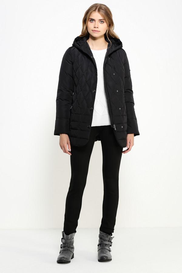 Куртка FINN FLAREКуртки<br><br><br>Размер RU: 42<br>Пол: Женский<br>Возраст: Взрослый<br>Материал: полиэстер 100%, Состав_наполнитель пух 90%, Состав_наполнитель перо 10%<br>Цвет: Чёрный