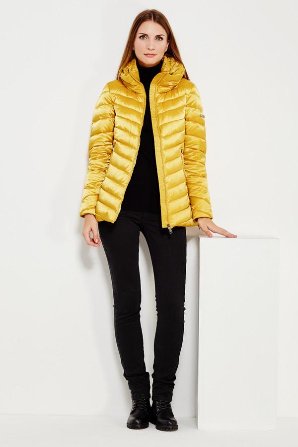 Куртка FINN FLAREКуртки<br><br><br>Размер RU: 44<br>Пол: Женский<br>Возраст: Взрослый<br>Материал: полиэстер 60%, нейлон 40%, Состав_наполнитель пух 100%<br>Цвет: Жёлтый