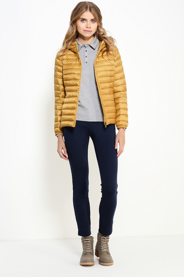 Куртка FINN FLAREКуртки<br><br><br>Размер RU: 42<br>Пол: Женский<br>Возраст: Взрослый<br>Материал: полиэстер 100%, Состав_наполнитель пух 100%<br>Цвет: Жёлтый