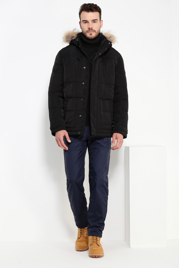 Куртка FINN FLAREКуртки<br><br><br>Размер RU: 52<br>Пол: Мужской<br>Возраст: Взрослый<br>Материал: полиэстер 100%, Состав_наполнитель пух 80%, Состав_наполнитель перо 20%<br>Цвет: Чёрный