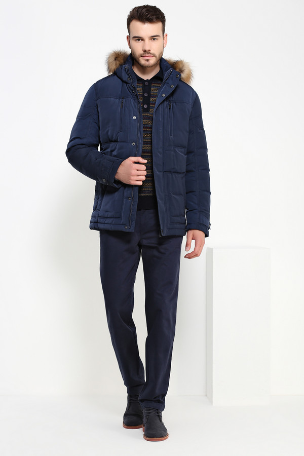 Куртка FINN FLAREКуртки<br><br><br>Размер RU: 50<br>Пол: Мужской<br>Возраст: Взрослый<br>Материал: полиэстер 100%, Состав_наполнитель пух 80%, Состав_наполнитель перо 20%<br>Цвет: Синий