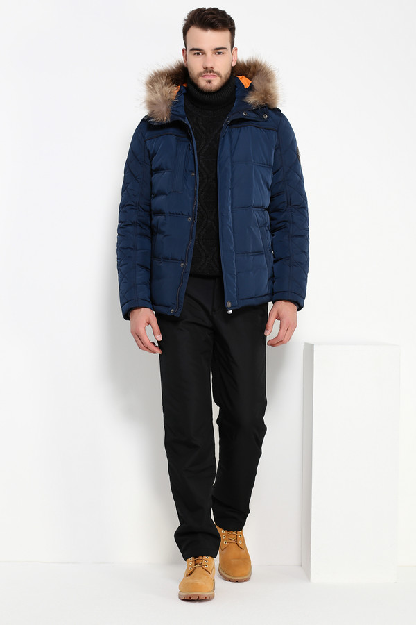 Куртка FINN FLAREКуртки<br><br><br>Размер RU: 58<br>Пол: Мужской<br>Возраст: Взрослый<br>Материал: полиэстер 100%, Состав_наполнитель пух 80%, Состав_наполнитель перо 20%<br>Цвет: Синий