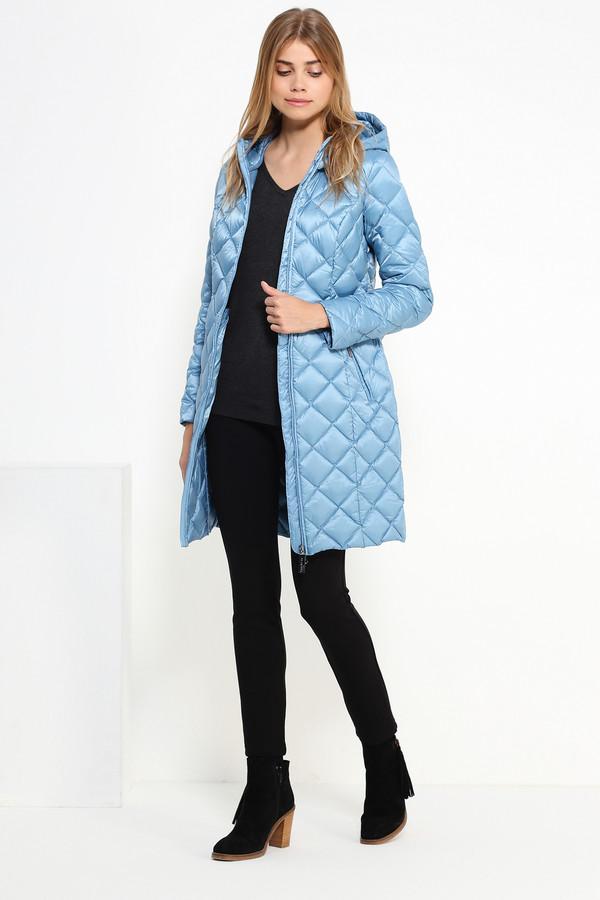 Пальто FINN FLAREПальто<br><br><br>Размер RU: 46<br>Пол: Женский<br>Возраст: Взрослый<br>Материал: полиэстер 60%, нейлон 40%, Состав_наполнитель пух 100%<br>Цвет: Голубой