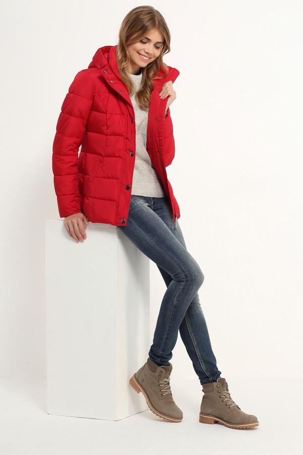 Куртка FINN FLAREКуртки<br><br><br>Размер RU: 50<br>Пол: Женский<br>Возраст: Взрослый<br>Материал: полиэстер 100%, Состав_подкладка полиэстер 100%, Состав_наполнитель полиэстер 100%<br>Цвет: Красный