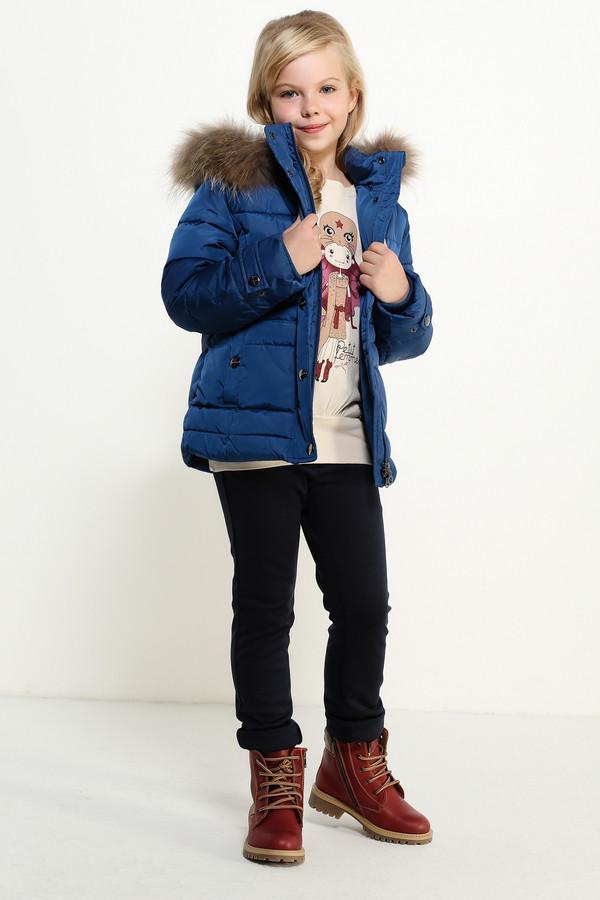 Куртка FINN FLAREКуртки<br><br><br>Размер RU: 28;110<br>Пол: Женский<br>Возраст: Детский<br>Материал: полиэстер 100%, Состав_подкладка полиэстер 100%, Состав_наполнитель полиэстер 100%<br>Цвет: Синий