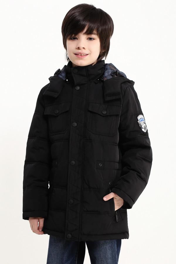 Куртка FINN FLAREКуртки<br><br><br>Размер RU: 40<br>Пол: Мужской<br>Возраст: Детский<br>Материал: полиэстер 100%, Состав_подкладка полиэстер 100%, Состав_наполнитель полиэстер 100%<br>Цвет: Чёрный