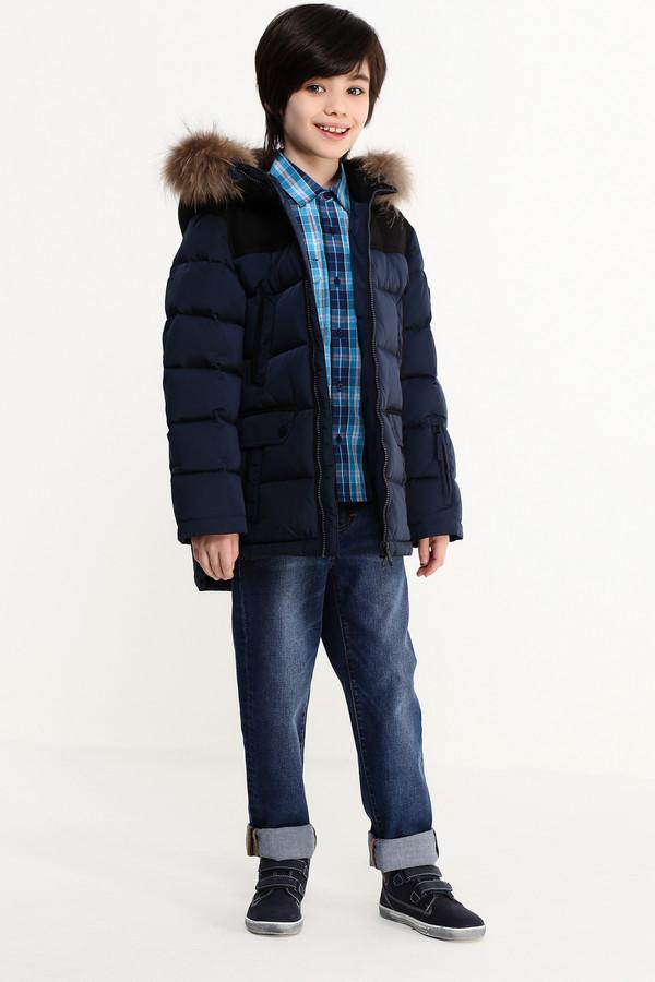 Куртка FINN FLAREКуртки<br><br><br>Размер RU: 30;122<br>Пол: Мужской<br>Возраст: Детский<br>Материал: полиэстер 100%, Состав_подкладка полиэстер 100%, Состав_наполнитель полиэстер 100%<br>Цвет: Чёрный