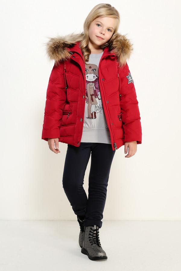 Куртка FINN FLAREКуртки<br><br><br>Размер RU: 38<br>Пол: Женский<br>Возраст: Детский<br>Материал: полиэстер 100%, Состав_подкладка полиэстер 100%, Состав_наполнитель пух 90%, Состав_наполнитель перо 10%<br>Цвет: Красный