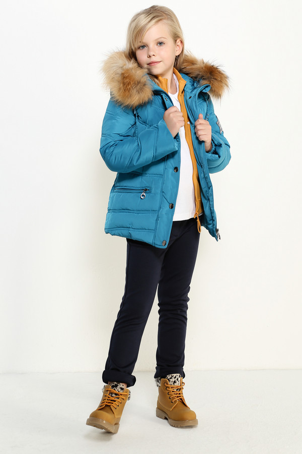 Куртка FINN FLAREКуртки<br><br><br>Размер RU: 40<br>Пол: Женский<br>Возраст: Детский<br>Материал: полиэстер 100%, Состав_подкладка полиэстер 100%, Состав_наполнитель пух 90%, Состав_наполнитель перо 10%<br>Цвет: Голубой