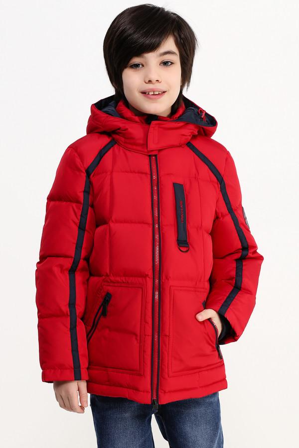 Куртка FINN FLAREКуртки<br><br><br>Размер RU: 38<br>Пол: Мужской<br>Возраст: Детский<br>Материал: полиэстер 100%, Состав_подкладка полиэстер 100%, Состав_наполнитель пух 80%, Состав_наполнитель перо 20%<br>Цвет: Красный