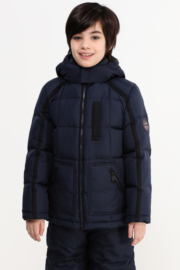 Куртка FINN FLAREКуртки<br><br><br>Размер RU: 38<br>Пол: Мужской<br>Возраст: Детский<br>Материал: полиэстер 100%, Состав_подкладка полиэстер 100%, Состав_наполнитель пух 80%, Состав_наполнитель перо 20%<br>Цвет: Синий