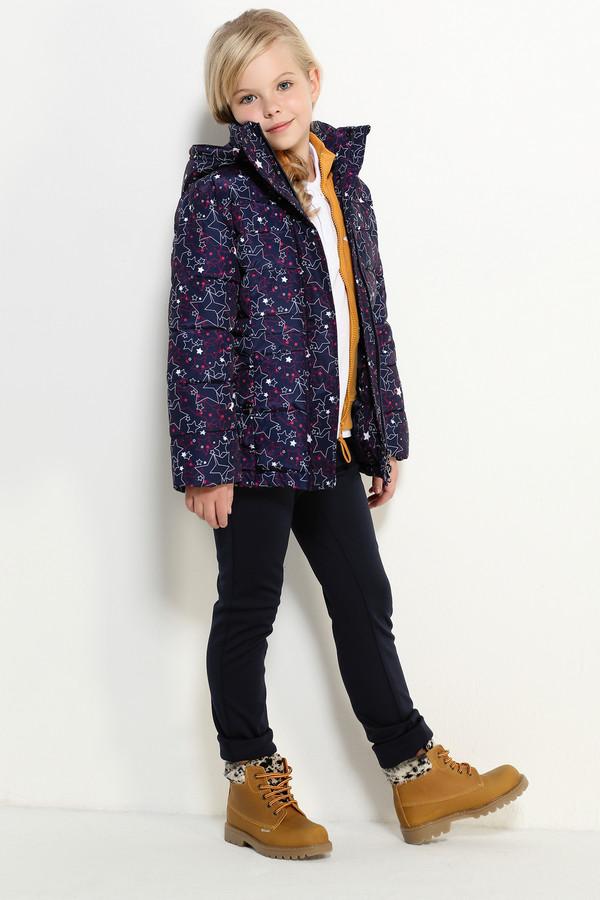 Куртка FINN FLAREКуртки<br><br><br>Размер RU: 34;134<br>Пол: Женский<br>Возраст: Детский<br>Материал: полиэстер 100%, Состав_подкладка полиэстер 100%, Состав_наполнитель полиэстер 100%<br>Цвет: Синий