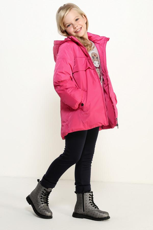 Куртка FINN FLAREКуртки<br><br><br>Размер RU: 40<br>Пол: Женский<br>Возраст: Детский<br>Материал: полиэстер 100%, Состав_подкладка полиэстер 100%, Состав_наполнитель полиэстер 100%<br>Цвет: Розовый