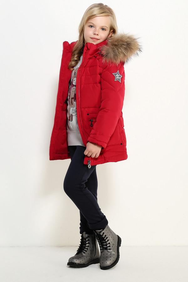 Куртка FINN FLAREКуртки<br><br><br>Размер RU: 34;134<br>Пол: Женский<br>Возраст: Детский<br>Материал: полиэстер 100%, Состав_подкладка полиэстер 100%, Состав_наполнитель пух 90%, Состав_наполнитель перо 10%<br>Цвет: Красный