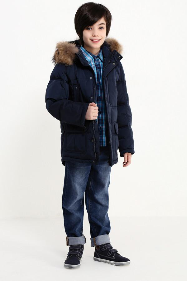 Куртка FINN FLAREКуртки<br><br><br>Размер RU: 40<br>Пол: Мужской<br>Возраст: Детский<br>Материал: полиэстер 100%, Состав_подкладка полиэстер 100%, Состав_наполнитель пух 80%, Состав_наполнитель перо 20%<br>Цвет: Синий