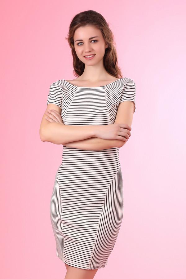 Платье OuiПлатья<br><br><br>Размер RU: 40<br>Пол: Женский<br>Возраст: Взрослый<br>Материал: эластан 3%, хлопок 70%, полиэстер 27%<br>Цвет: Чёрный
