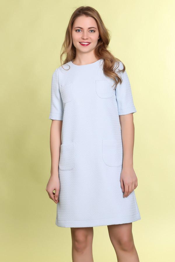 Платье MammySizeПлатья<br><br><br>Размер RU: 42<br>Пол: Женский<br>Возраст: Взрослый<br>Материал: полиэстер 100%<br>Цвет: Голубой