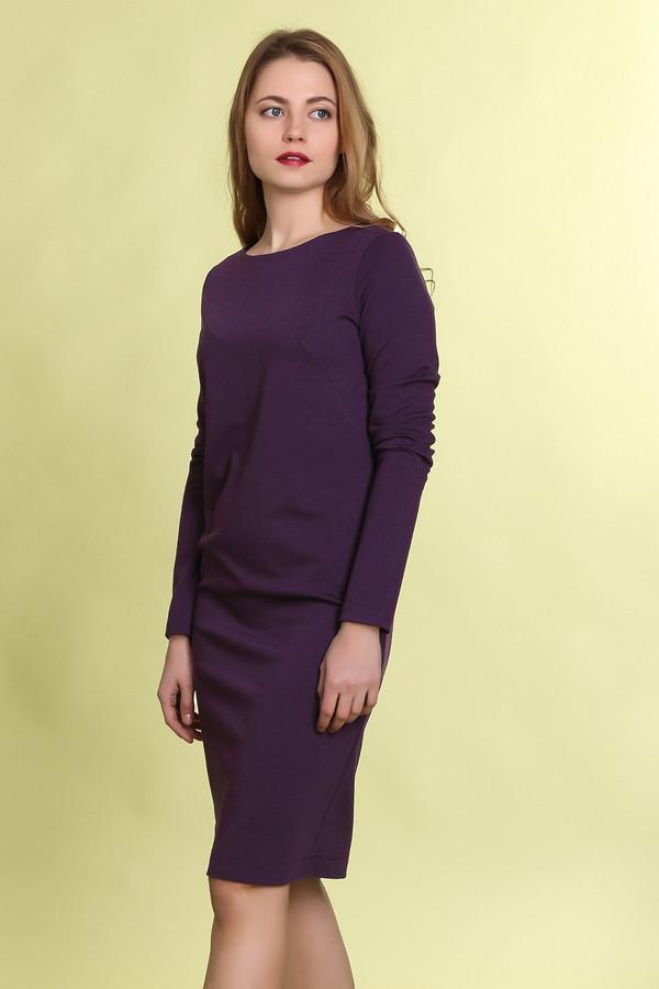 Платье MammySizeПлатья<br><br><br>Размер RU: 46<br>Пол: Женский<br>Возраст: Взрослый<br>Материал: эластан 5%, полиэстер 50%, хлопок 45%<br>Цвет: Фиолетовый