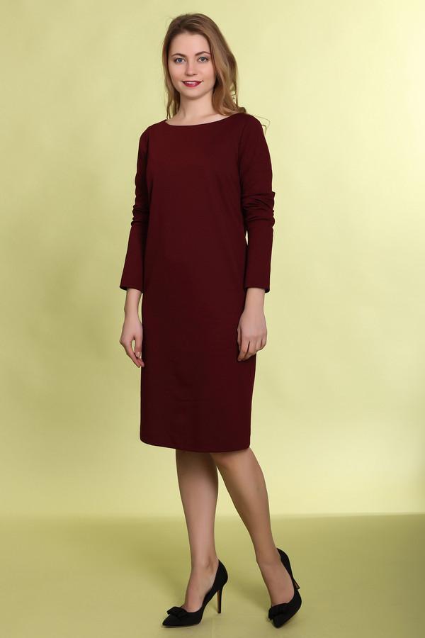 Платье MammySizeПлатья<br><br><br>Размер RU: 42<br>Пол: Женский<br>Возраст: Взрослый<br>Материал: эластан 5%, полиэстер 50%, хлопок 45%<br>Цвет: Красный
