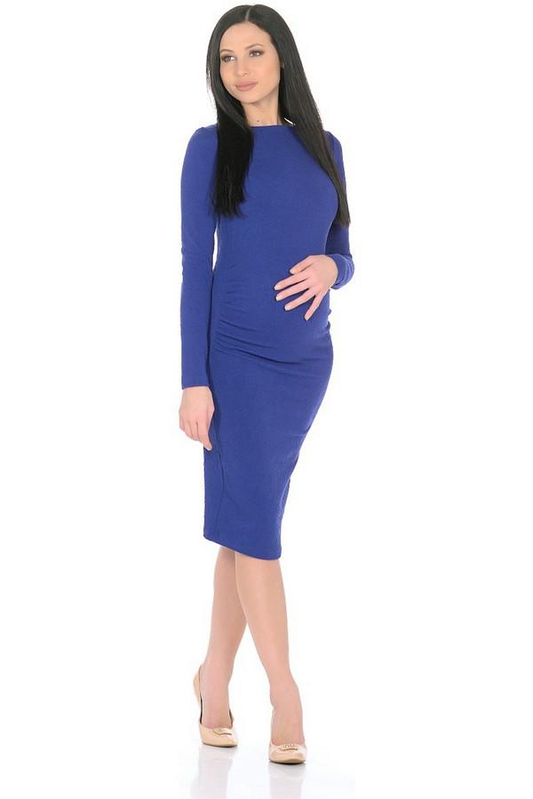 Платье MammySizeПлатья<br><br><br>Размер RU: 48<br>Пол: Женский<br>Возраст: Взрослый<br>Материал: эластан 5%, полиэстер 80%, вискоза 15%<br>Цвет: Синий