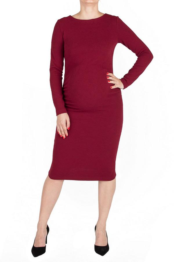 Платье MammySizeПлатья<br><br><br>Размер RU: 44<br>Пол: Женский<br>Возраст: Взрослый<br>Материал: эластан 5%, полиэстер 80%, вискоза 15%<br>Цвет: Красный