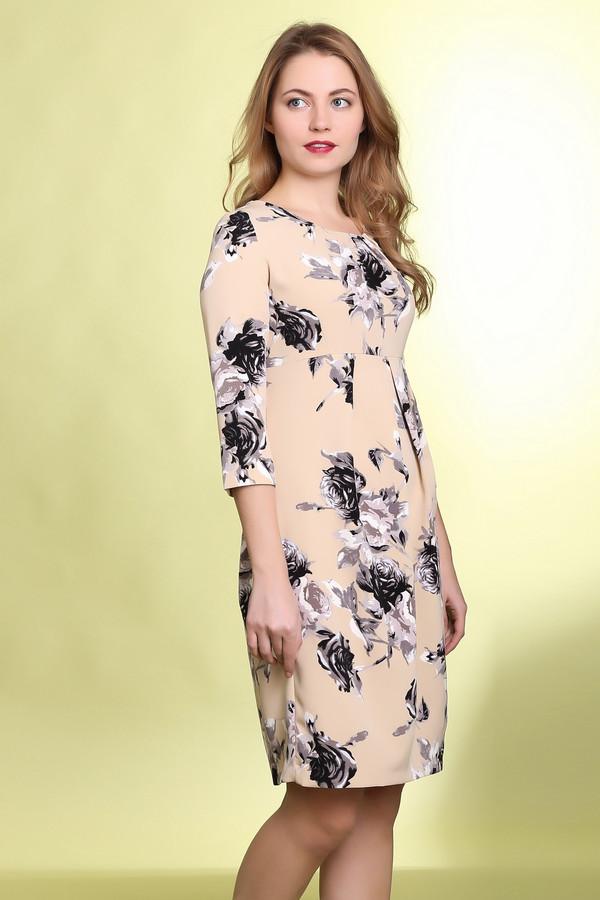 Платье MammySizeПлатья<br><br><br>Размер RU: 44<br>Пол: Женский<br>Возраст: Взрослый<br>Материал: эластан 5%, полиэстер 65%, вискоза 30%<br>Цвет: Разноцветный