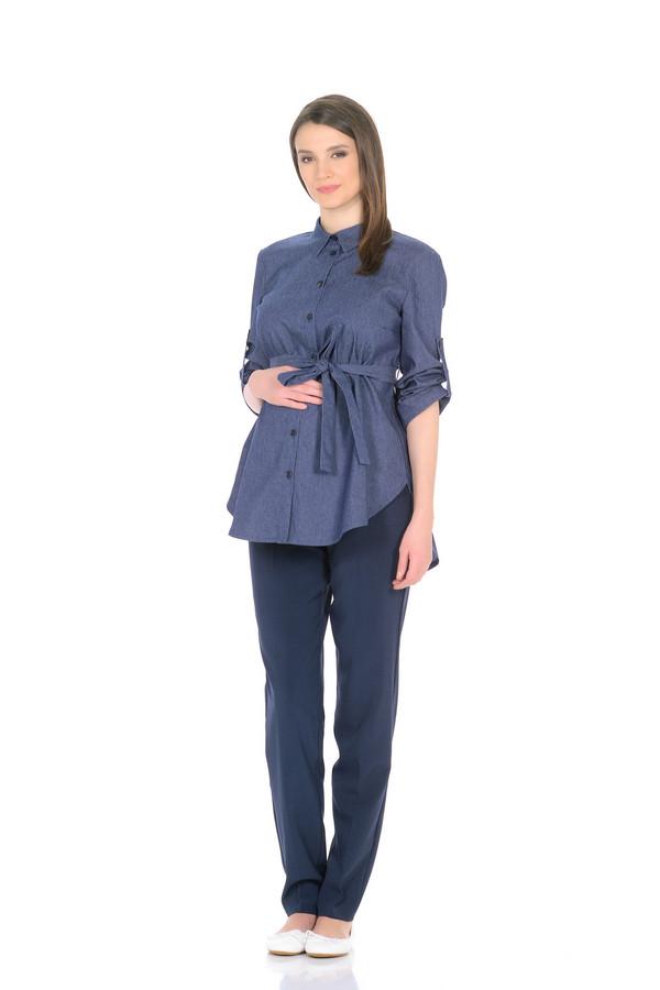 Рубашки и сорочки MammySizeРубашки и сорочки<br><br><br>Размер RU: 42<br>Пол: Женский<br>Возраст: Взрослый<br>Материал: полиэстер 30%, хлопок 65%, спандекс 5%<br>Цвет: Синий