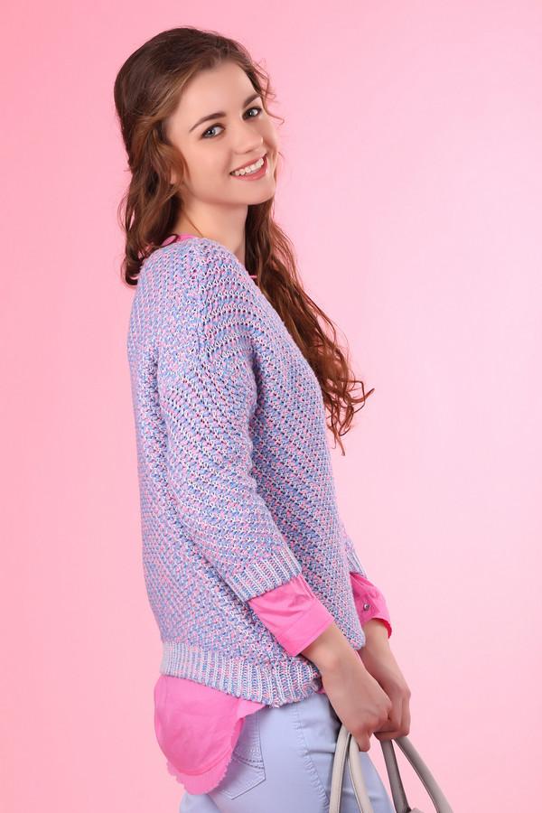 Пуловер Tom TailorПуловеры<br><br><br>Размер RU: 40-42<br>Пол: Женский<br>Возраст: Взрослый<br>Материал: полиамид 24%, полиэстер 52%, хлопок 24%<br>Цвет: Розовый