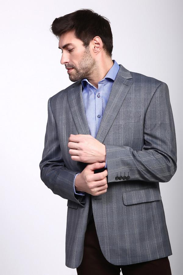 Пиджак DigelПиджаки<br><br><br>Размер RU: 60<br>Пол: Мужской<br>Возраст: Взрослый<br>Материал: полиэстер 50%, шерсть 50%<br>Цвет: Серый