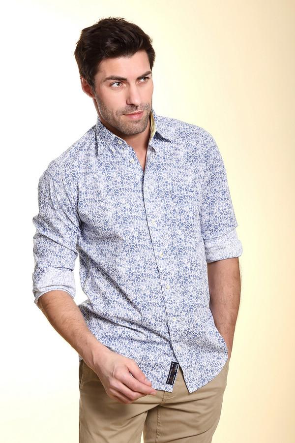 Рубашка с длинным рукавом Casa ModaДлинный рукав<br><br><br>Размер RU: 39-40<br>Пол: Мужской<br>Возраст: Взрослый<br>Материал: хлопок 100%<br>Цвет: Белый