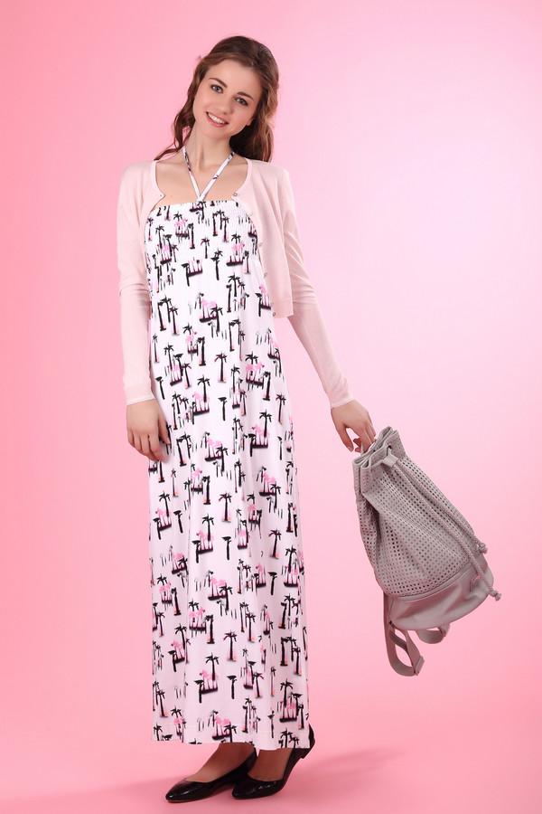 Платье Eugen KleinПлатья<br><br><br>Размер RU: 48<br>Пол: Женский<br>Возраст: Взрослый<br>Материал: вискоза 93%, эластан 7%<br>Цвет: Разноцветный