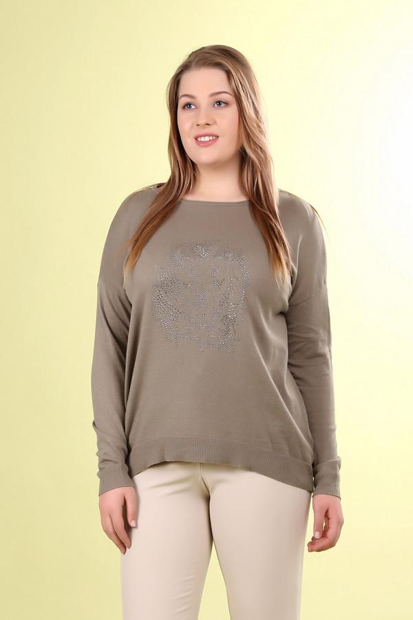 Пуловер Gerry WeberПуловеры<br><br><br>Размер RU: 48<br>Пол: Женский<br>Возраст: Взрослый<br>Материал: шелк 10%, хлопок 70%, лен 20%<br>Цвет: Серебристый