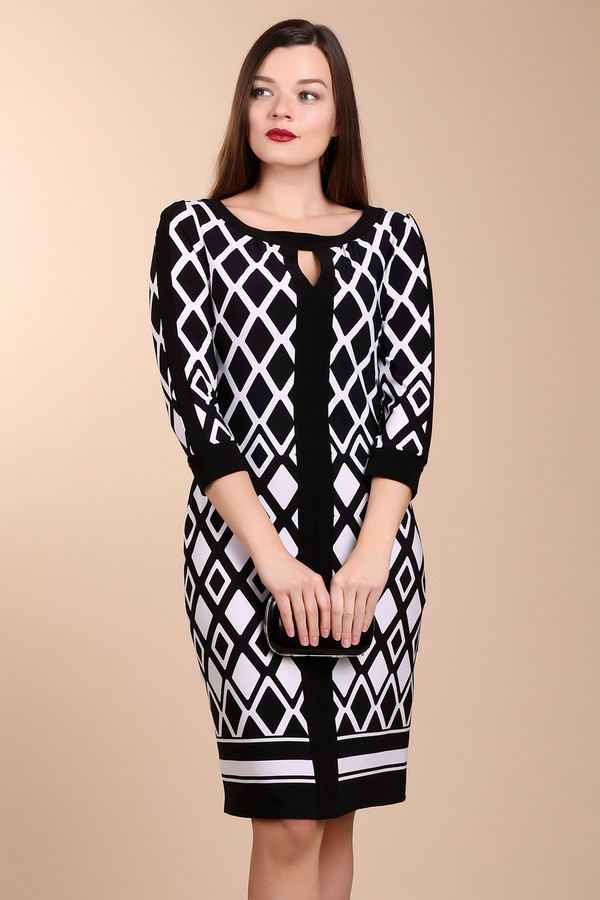 Платье Joseph RibkoffПлатья<br><br><br>Размер RU: 44<br>Пол: Женский<br>Возраст: Взрослый<br>Материал: полиамид 96%, спандекс 4%<br>Цвет: Белый