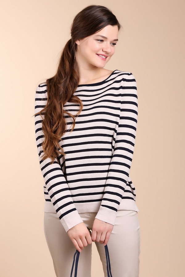 Пуловер Betty BarclayПуловеры<br><br><br>Размер RU: 48<br>Пол: Женский<br>Возраст: Взрослый<br>Материал: хлопок 50%, полиакрил 50%<br>Цвет: Синий