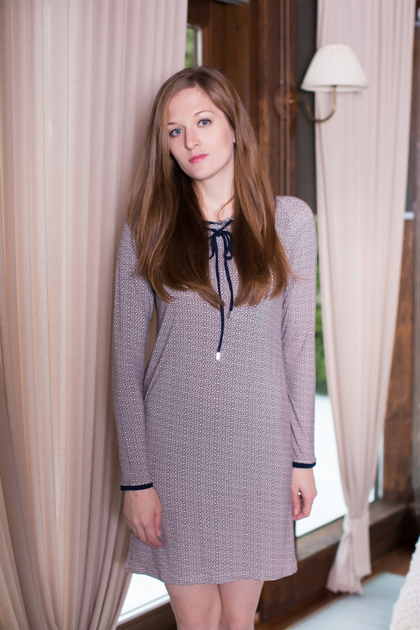 Платье MARUSЯПлатья<br><br><br>Размер RU: 44<br>Пол: Женский<br>Возраст: Взрослый<br>Материал: эластан 8%, вискоза 92%<br>Цвет: Серый