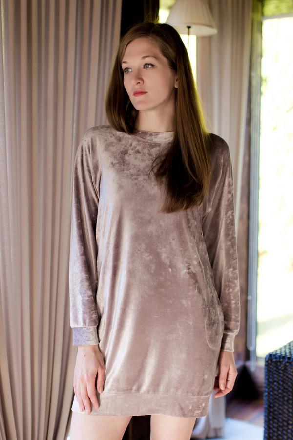 Платье MARUSЯПлатья<br><br><br>Размер RU: 44<br>Пол: Женский<br>Возраст: Взрослый<br>Материал: полиэстер 20%, хлопок 80%<br>Цвет: Серебристый