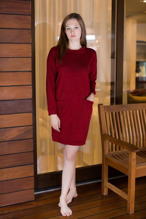 Платье MARUSЯПлатья<br><br><br>Размер RU: 48<br>Пол: Женский<br>Возраст: Взрослый<br>Материал: хлопок 100%<br>Цвет: Красный