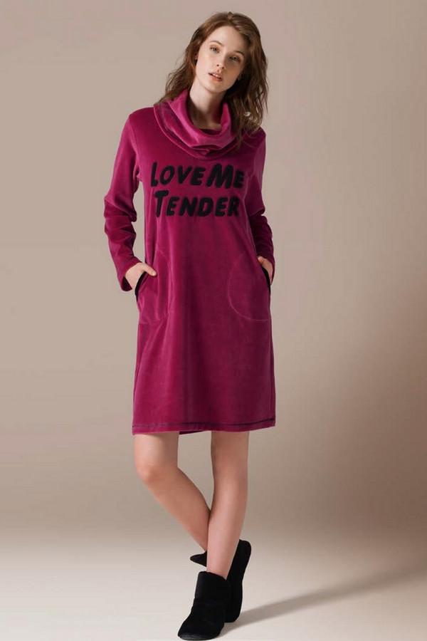 Платье CATHERINESПлатья<br><br><br>Размер RU: 44<br>Пол: Женский<br>Возраст: Взрослый<br>Материал: полиэстер 20%, хлопок 80%<br>Цвет: Фиолетовый