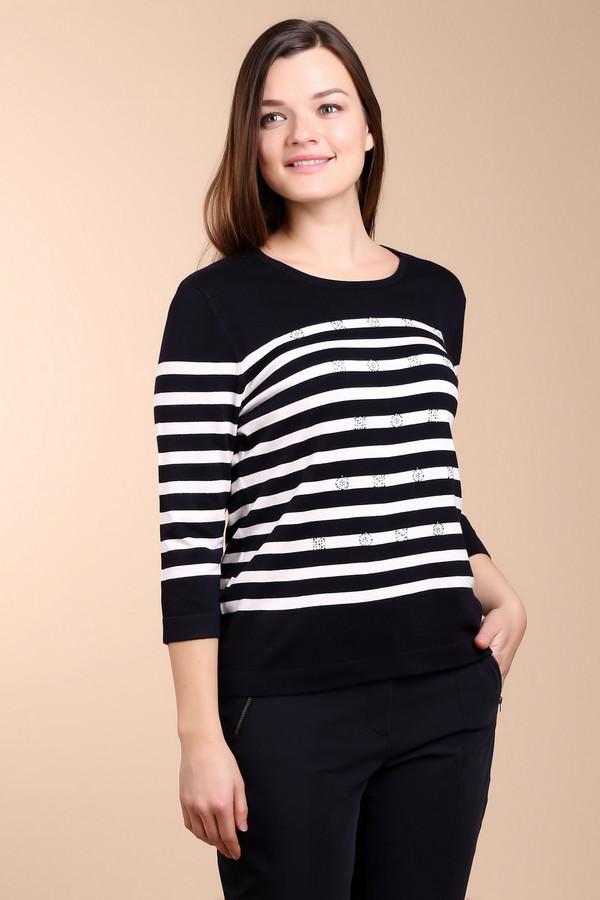 Пуловер Gerry WeberПуловеры<br><br><br>Размер RU: 48<br>Пол: Женский<br>Возраст: Взрослый<br>Материал: эластан 3%, полиамид 15%, вискоза 82%<br>Цвет: Белый