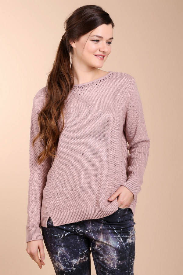 Пуловер Betty BarclayПуловеры<br><br><br>Размер RU: 52<br>Пол: Женский<br>Возраст: Взрослый<br>Материал: хлопок 50%, полиакрил 50%<br>Цвет: Розовый