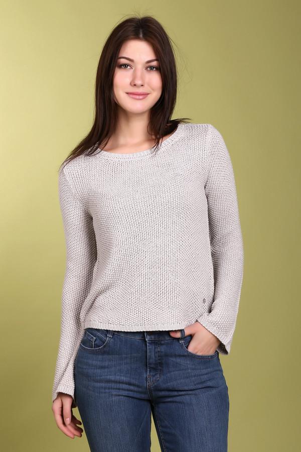 Пуловер MonariПуловеры<br><br><br>Размер RU: 48<br>Пол: Женский<br>Возраст: Взрослый<br>Материал: полиакрил 94%, метализ.нить 6%<br>Цвет: Серый