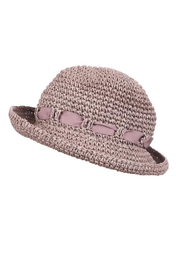 Шляпа PezzoШляпы<br><br><br>Размер RU: один размер<br>Пол: Женский<br>Возраст: Взрослый<br>Материал: бумажная соломка 100%<br>Цвет: Розовый