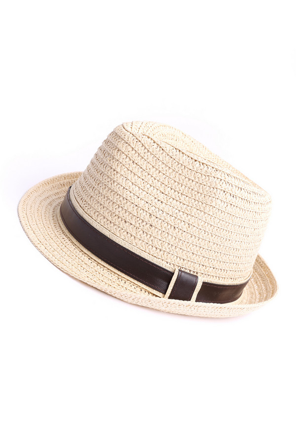Шляпа PezzoШляпы<br><br><br>Размер RU: один размер<br>Пол: Женский<br>Возраст: Взрослый<br>Материал: бумажная соломка 100%<br>Цвет: Бежевый
