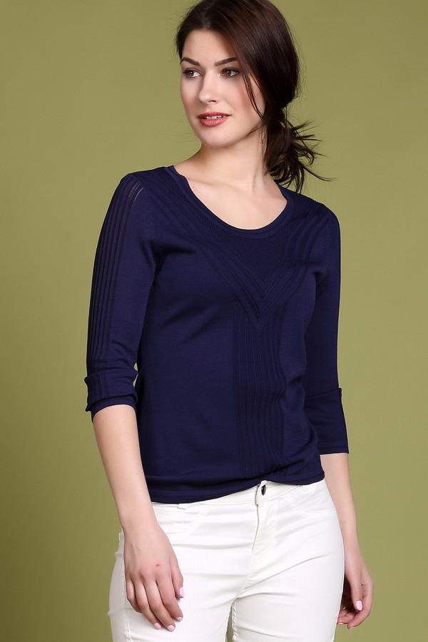 Пуловер PezzoПуловеры<br><br><br>Размер RU: 54<br>Пол: Женский<br>Возраст: Взрослый<br>Материал: нейлон 37%, район 63%<br>Цвет: Синий