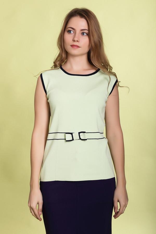 Пуловер PezzoПуловеры<br><br><br>Размер RU: 42<br>Пол: Женский<br>Возраст: Взрослый<br>Материал: вискоза 80%, нейлон 20%<br>Цвет: Зелёный