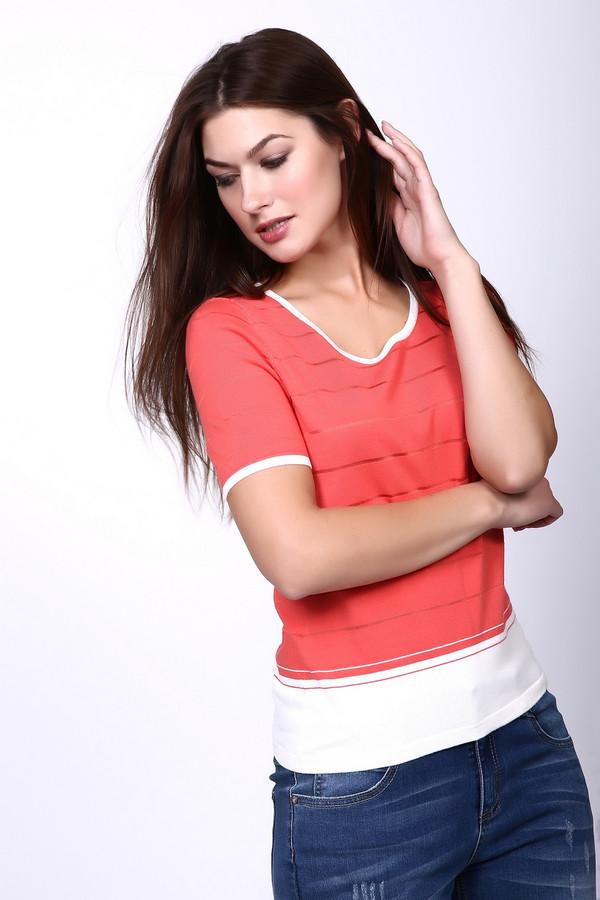 Пуловер PezzoПуловеры<br><br><br>Размер RU: 48<br>Пол: Женский<br>Возраст: Взрослый<br>Материал: вискоза 80%, нейлон 20%<br>Цвет: Розовый