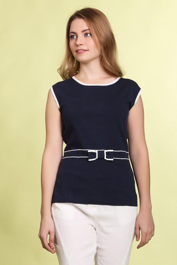 Пуловер PezzoПуловеры<br><br><br>Размер RU: 44<br>Пол: Женский<br>Возраст: Взрослый<br>Материал: вискоза 80%, нейлон 20%<br>Цвет: Синий