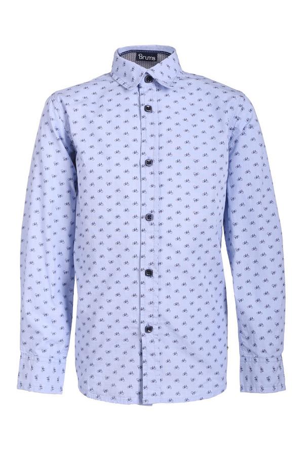 Рубашка BrumsРубашки<br><br><br>Размер RU: 28;110<br>Пол: Мужской<br>Возраст: Детский<br>Материал: см. на вшивном ярлыке 0%<br>Цвет: Разноцветный