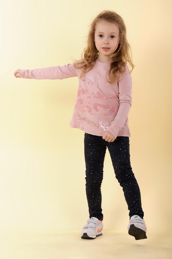 поло brums для девочки, розовое